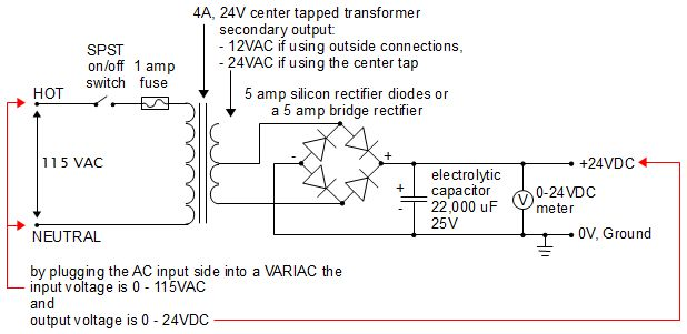24 volts power supply circuit diagram meetcolab 24 volts power supply circuit diagram homemade diy 24 volt power supply schematic