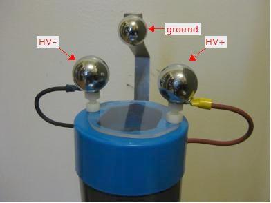 Positive/Negative Cockroft-Walton Voltage Multiplier