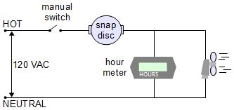 snap_disc_hour_meter_solar_air_heater_circuit electronic temperature control circuit hour meter wiring diagram at soozxer.org