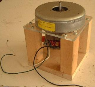 The Lightweight Wooden Support Structure For Vacuum Cleaner Motor