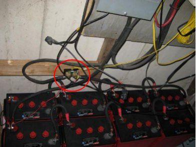 Amp hour meter (battery status monitor) Xantrex Shunt Wiring Diagram on