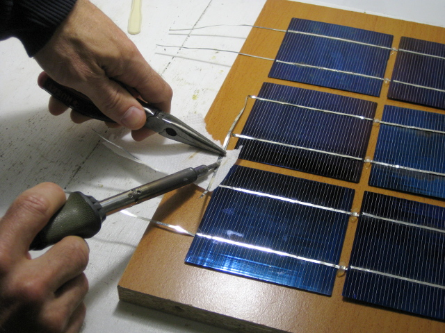 Diy Homemade Solar Panel Simple One