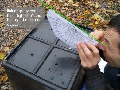 DIY Elevationazimuth Shade Finder Tool For Solar Site Surveys - How to find my elevation
