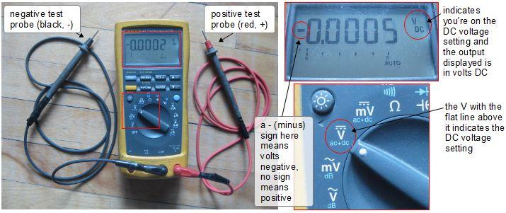 measuring_DC_voltage_with_digital_multimeter measuring battery bank voltage