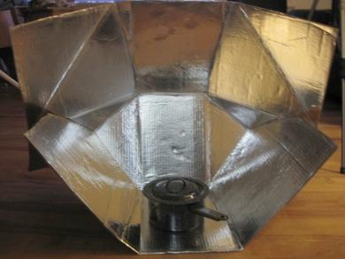 Modified Cookit Solar Cooker