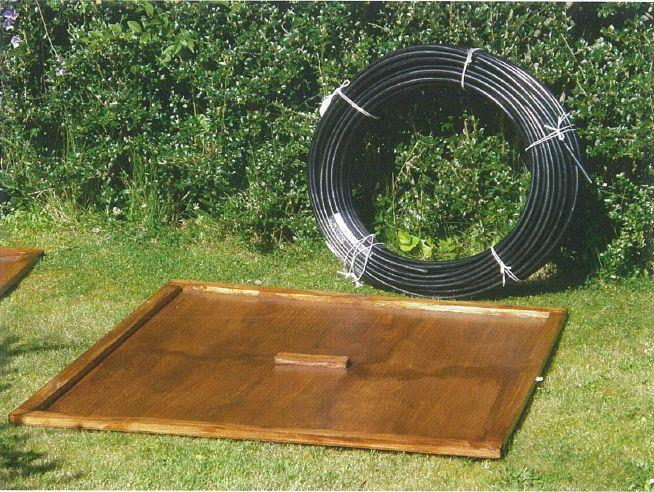 Diy solar pool heating in tuscany solar pool heater simple plywood panel contstruction solutioingenieria Image collections