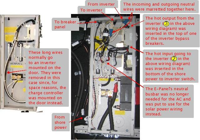 ac_epanel_wiring off grid solar power system on an rv (recreational vehicle) or motorhome solar panel wiring diagram at pacquiaovsvargaslive.co