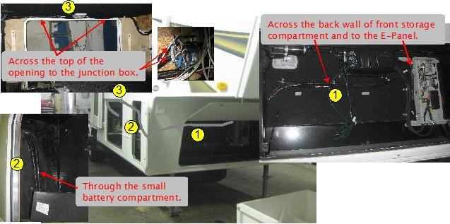Off Grid Solar Power System On An RV Recreational Vehicle Or - Wiring a grid switch