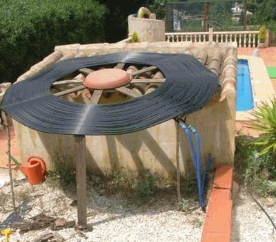 Homemade Diy Solar Pool Heating In Spain