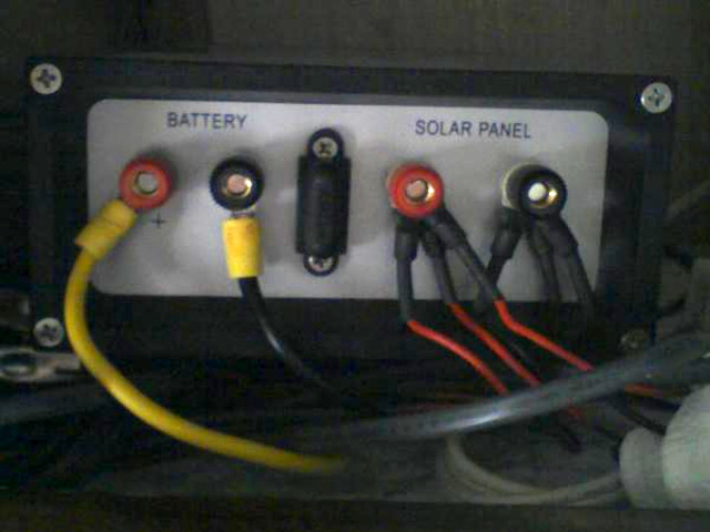 Solar Power On An Rv Recreational Vehicle Or Motorhome