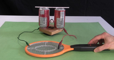 Mosquito Swatter Circuit Diagram | Electric Fly Swatter Zapper Racket As High Voltage Source