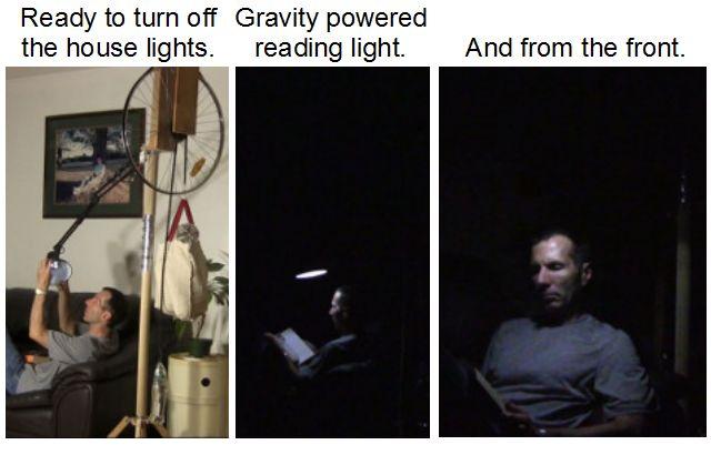 Mein selbstgemachtes Gravitationslicht (v2).