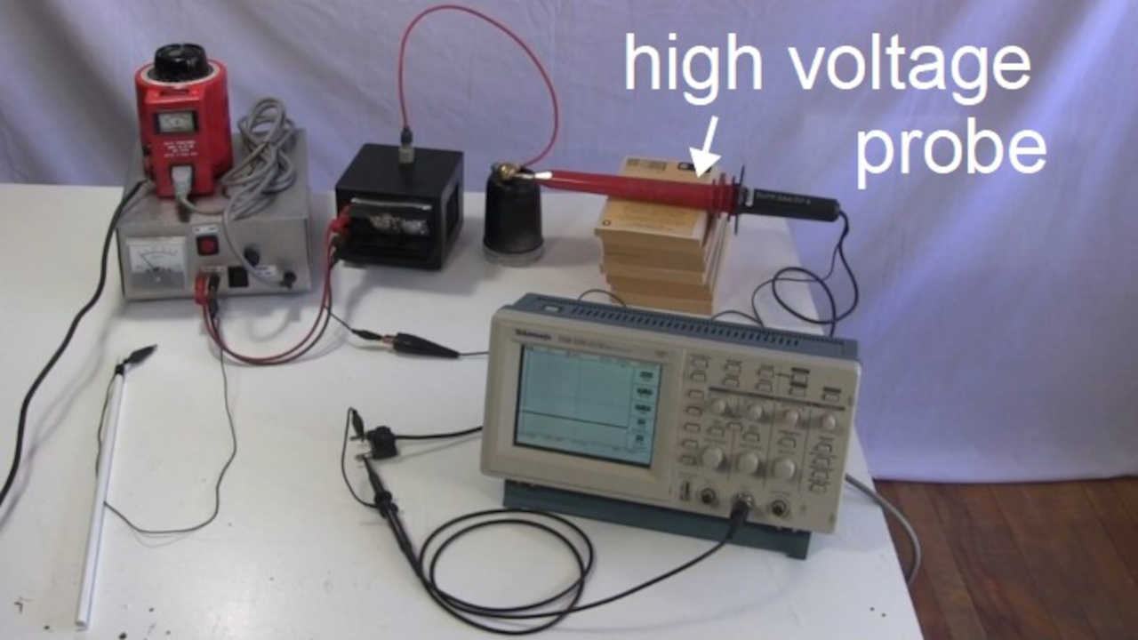20kV DC power supply (homemade/DIY) using flyback with built