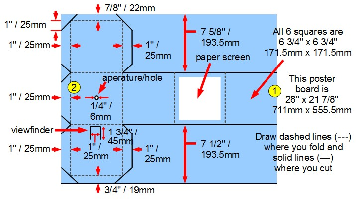 how to make a pinhole camera using a poster board Wireless Camera Wiring Diagram