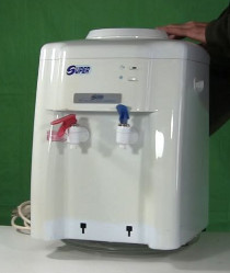 Peltier effect cooling efficiency test