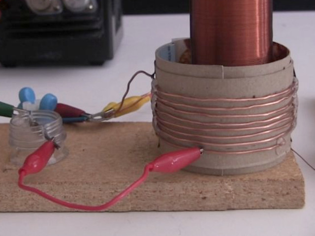 Small Spark Gap Tesla Coil