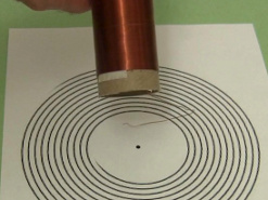 Make a spiral primary coil for a Tesla coil