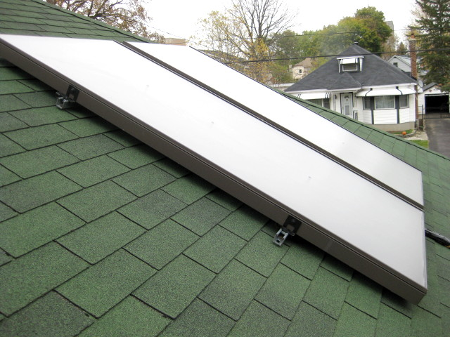 Enerworks solar thermal/solar hot water system